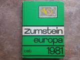 Zumstein Briefmarken-Katalog - Europa-Ost 1981