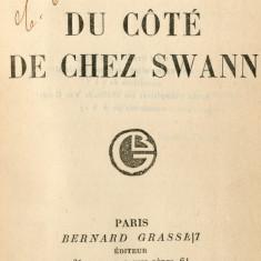 PROUST, Marcel. Du côté de chez Swann. Paris: Bernard Grasset, 1914 [i.e. 1913]