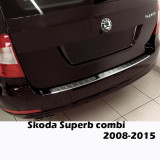 Ornament portbagaj crom Skoda Superb 2 combi 2008-2015