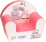 Fotoliu Din Burete Best Friends