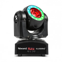 Beamz Illusion 1, LED în mișcare, LED Beam inel cu LED, negru