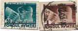Trimiteri postale Fondul aviatiei, 1936 - valori obliterate, Aviatie, Stampilat