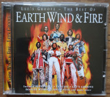 CD Earth Wind & Fire – Let's Groove - The Best Of Earth Wind & Fire, Columbia
