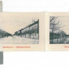3780 - ORSOVA, Romania - 10 MINI old postcards - unused