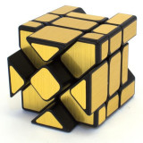 Cumpara ieftin Cub Rubik Mirror 3x3x3 Fisher, Moyu YiLeng, Gold, 90CUB