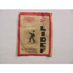 CY - Dezincrustant funingine LIDEF / plic sigilat cu continut / comunism Romania