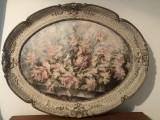 Tablou,pictura in ulei pe panza,rama din lemn,semnata