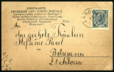 1904 Carte Postala Circulata BUKOWINA Bucovina stampila rara ARBORA