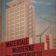Materiale Moderne In Constructii - Al. Negoita S. Negoita ,282041