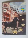 Cumpara ieftin Rar! Set 8 monede UNC in blistere,probe Euro/Cent Suedia 2003,tiraj=24 000 buc.
