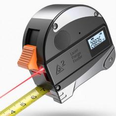 Ruleta de precizie cu laser 30m banda 5m
