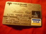Card VISA Volksbank 2007