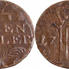 1782 - A - 1/24 thaler - Friedrich II - Regatul Prusiei Ag. ( .222 )