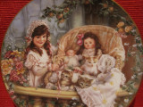 TABLOU BRADEX - FARFURIE DECORATIVA PORTELAN U.S.A SEMNATA SANDRA KUCH