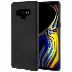 Husa Samsung Galaxy Note 9 Goospery Style Lux Negru, Silicon, Carcasa, Mercury