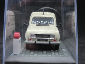 Macheta Renault 4 F6 Interflora 1986 1:43