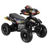 ATV electric cu roti gonflabile Supreme Black