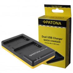 PATONA | Incarcator Dual USB pt Sony NP-FZ100 NPFZ100 NP FZ100