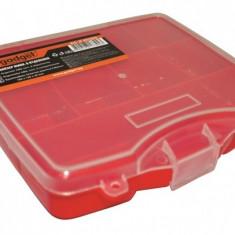 Organizator ABS mini cu 8 compartimente Gadget