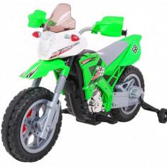 Motocicleta electrica Cross, verde