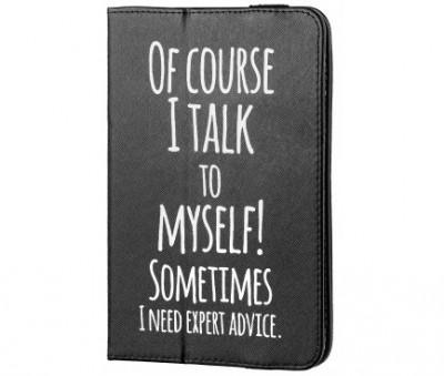 "Husa Universala Tableta 7-8"" (Talk to my self) foto"