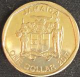Moneda exotica 1 DOLAR / DOLLAR - JAMAICA, anul 2017 *cod 4184, America de Nord