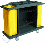 Carucior pentru menaj, 2 saci, 3 rafturi (EG-4415000)