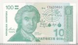 bnk bn Croatia 100 dinari 1991 necirculata