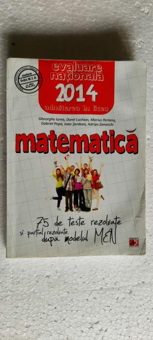 MATEMATICA 75 DE TESTE REZOLVATE SI PARTIAL REZOLVATE DUPA MODELUL MEN