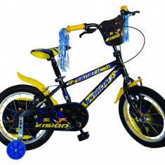 """Bicicleta Copii Vision Fanatic , Culoare Negru/Albastru Roata 16"""" OtelPB Cod:201609000307"""