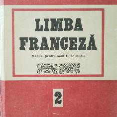 LIMBA FRANCEZA MANUAL PENTRU ANUL II DE STUDIU - Doina Popa-Scurtu