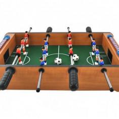 Masa Joc de Mini Fotbal Foosball cu 12 Jucatori si 2 Mingi, Dimensiuni 50x31x10cm