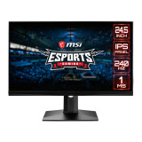 Monitor LED Gaming MSI Optix MAG251RX 24.5 inch FHD IPS 1ms 240Hz Black