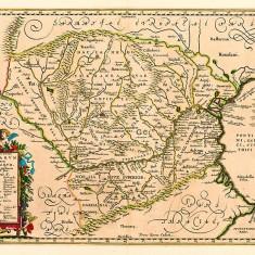 Harta Dacia 1649 |