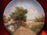 BRADEX CU CERTIFICAT - FARFURIE DECORATIVA PORTELAN SEMNATA CHRISTIAN LUCKEL