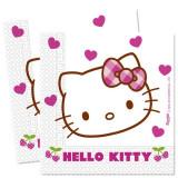 Servetele Hello Kitty Hearts