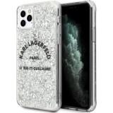 Cumpara ieftin Husa Cover Karl Lagerfeld Glitter pentru iPhone 11 Pro Max Silver