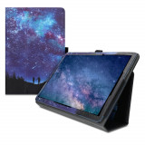 Husa pentru Huawei MediaPad T5, Piele ecologica, Multicolor, 46111.15
