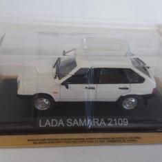 macheta lada samara 2109 + revista masini de legenda nr. 22 - 1/43, noua.