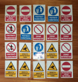 AUTOCOLANTE SEMNALIZARE SET 20 DE BUCATI