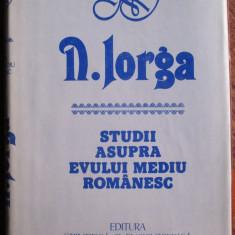Studii asupra Evului Mediu romanesc