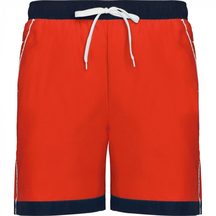 Short plaja barbati Roly Babor T/S rojo-marino BN6717ROJO