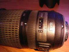 Obiectiv Nikon AF-S Nikkor 70-300mm 1:4.5-5.6 ED VR foto