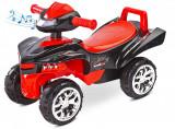 Jucarie ride-on cu sunete si lumini Toyz Mini Raptor 2 in 1 rosie, Toyz by Caretero
