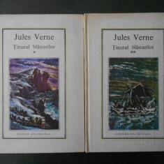 JULES VERNE - TINUTUL BLANURILOR 2 volume (1980, Editura Ion Creanga)