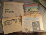 30 ziare diferite imediat dupa revolutie numere mici vitrina