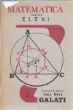 Matematica pentru elevi - Supliment al ziarului Viata Noua Galati ( numarul 7 )