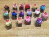 Mărțișoare din trandafiri de săpun parfumați