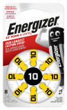 Baterii pentru proteze auditive Energizer 10 Zinc-Aer 8 Baterii /set