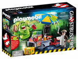 Jucarie Playmobil Ghostbusters Hot Dog Stand With Slimer